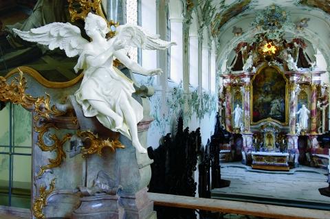 Rokokokirche in der Kartause Ittingen