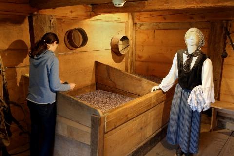 Kornkammer im Speicher
