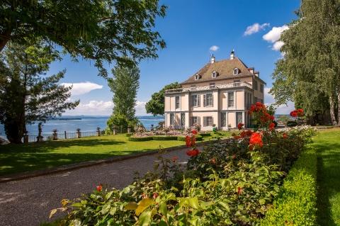 Schloss Arenenberg von Süden Foto: Helmuth Scham