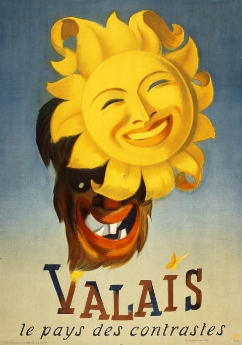 Werbeplakat von 1949