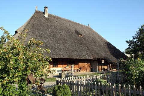 Strohdachhaus, Ständerbau 1802