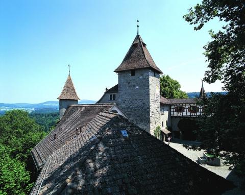Vue de la tour de la chapelle