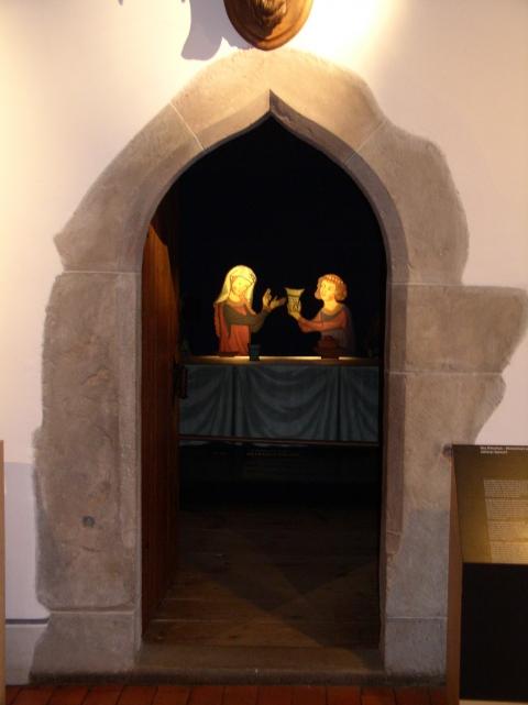 La maison du chevalier. Arcade gothique