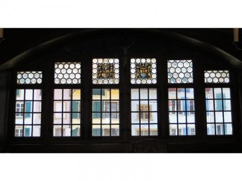 Baie vitrée de la Salle de la Justice