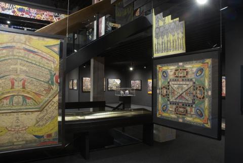 Vue intérieure Collection de l'Art Brut, Lausanne
