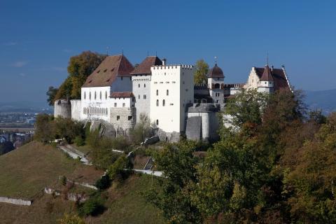 Schloss Lenzburg, Ansicht vom Gofisberg