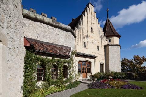 Schloss Lenzburg, Terrasse