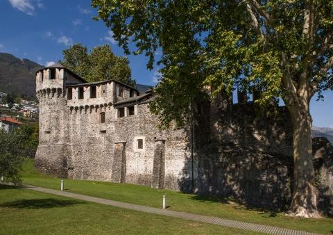 Castello Visconteo. Veduta esterna