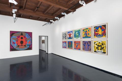 Museo Casa Rusca - interno esposizione Robert Indiana 2017