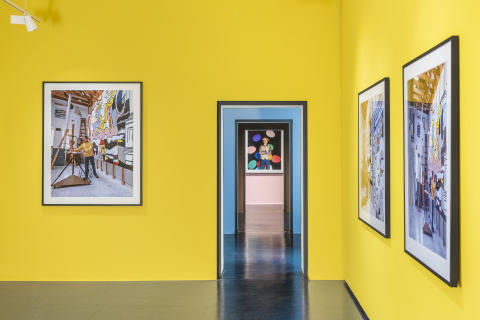 Museo Casa Rusca - interno esposizione Aurelio Amendola 2021