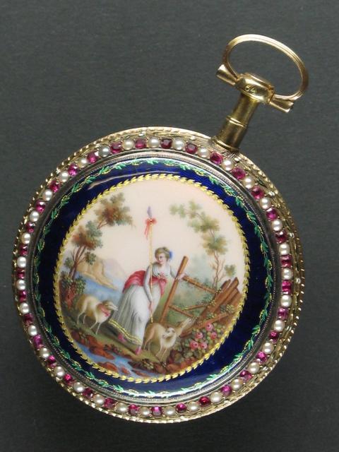Montre de poche Jaquet Droz, Musée d'horlogerie du Locle