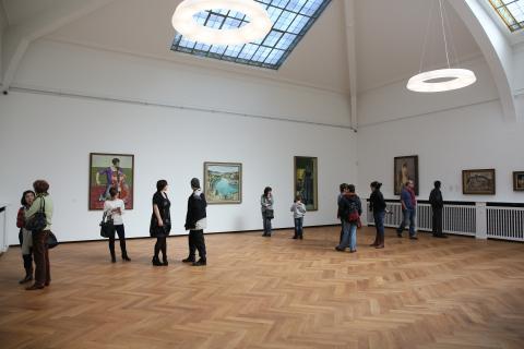 Musée des beaux-arts, Le Locle. ©Pierre Bohrer
