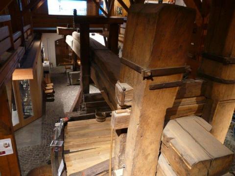 13m lange Baumpresse von 1761
