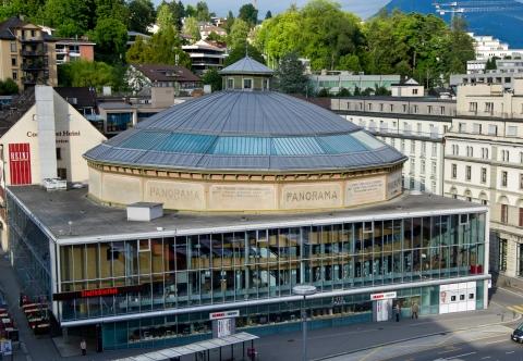Das Bourbaki Panorama Gebäude