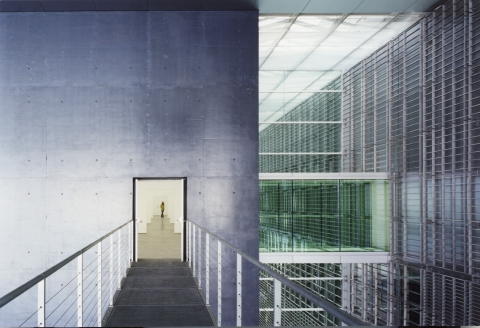 Kunstmuseum Luzern, Innenansicht Architektur