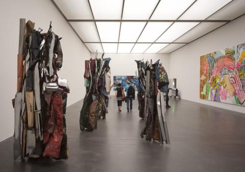 Ausstellungsansicht Kunstmuseum Luzern, Foto: Georg Anderhub