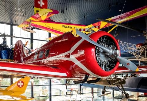 Verkehrshaus - Halle Luftfahrt