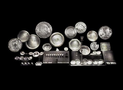 Im Museum: Der grösste Silberschatz der Spätantike