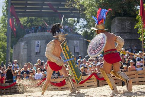 Willkommen am grössten Römerfest der Schweiz!