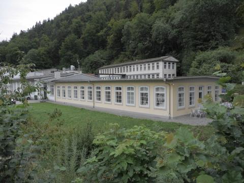 Museumstrakt in der ehemaligen Kammfabrik