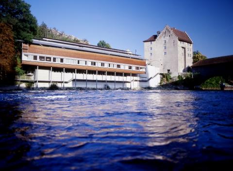 Geschichte und Gegenwart treffen sich im Museum am Fluss.