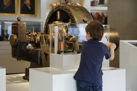 Spezieller Museumsrundgang für Kinder.