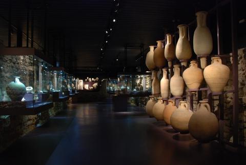 Vue de l'exposition permanente