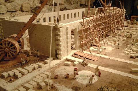 Maquette de la Basilique romaine de Nyon