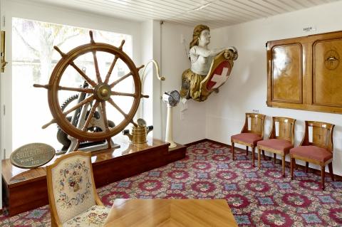 Les salles consacrées à la Compagnie générale de navigation