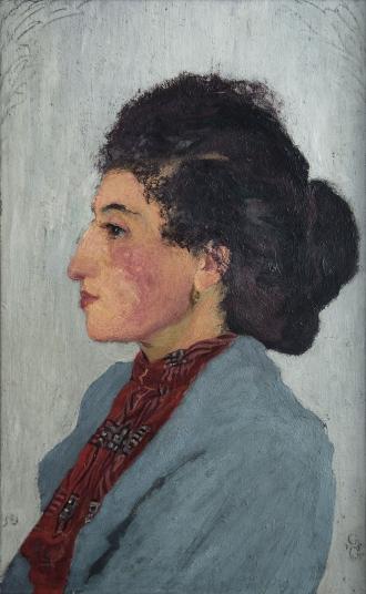 Giovanni Giacometti: Annetta, 1903