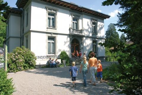 Das Museum befindet sich in einer Villa aus dem Jahr 1896.