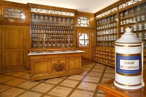 La pharmacie de l'Hôtel-Dieu de Porrentruy.