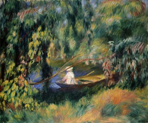 Pierre-Auguste Renoir, Das Boot, um 1878