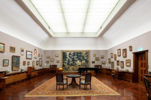 Ausstellungsansicht «Herzkammer – 30 Jahre Museum Langmatt»