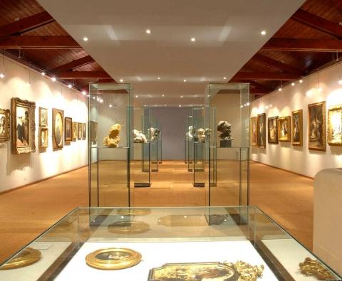 Pinacoteca cantonale Giovanni Züst, interno