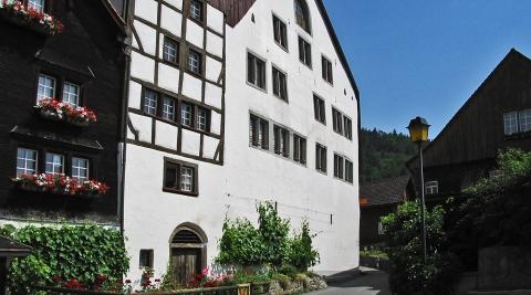 Frontansicht des Alten Rathauses