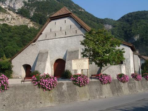 Le batiment du Musée Suisse de l\'orgue