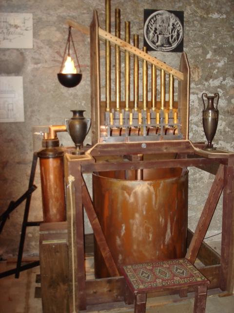 Reconstitution de l'orgue hydraulique 300 ans avant JC