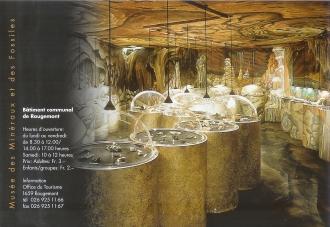 Flyer du Musée des Minéraux et Fossiles