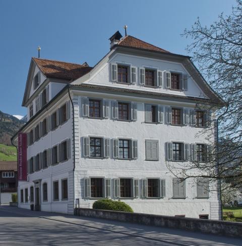 Das historische Haus von 1784.