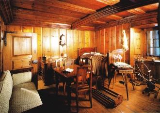Chambre neuchâteloise du XVIIIe s. reconstituée