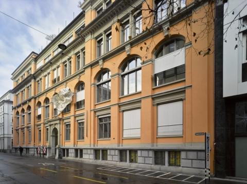 Textilmuseum St. Gallen. Foto: Donat Stuppan / SNM