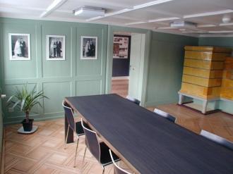 Das Trauzimmer ist in das Museum integriert.