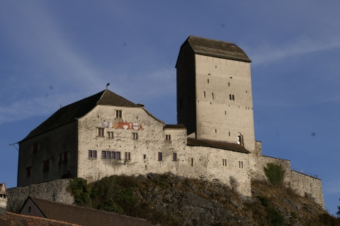 Modernes Museum in alten Mauern - Schloss Sargans