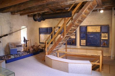 Blick ins Museum Sarganserland - Bergbauspuren vom Gonzen