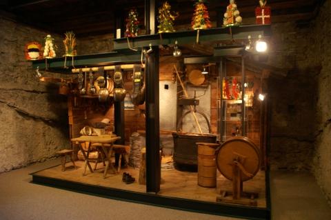 Traditionelle Alpwirtschaft im Museum modern präsentiert