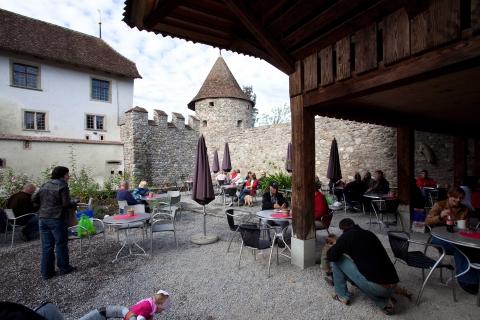 Schloss Hallwyl, Schlosscafé