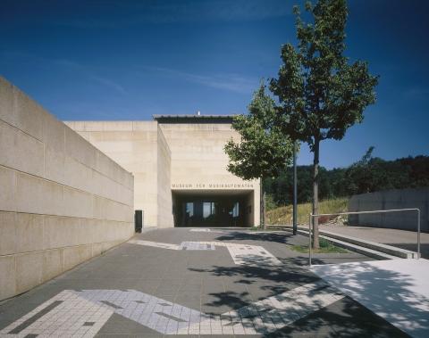 Der Museumseingang.