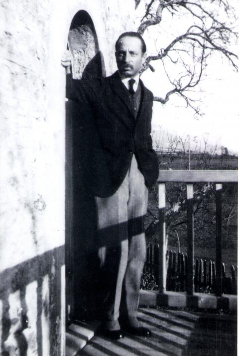 Rilke à Muzot, 1923 (Archives littéraires suisses, ALS, Berne)