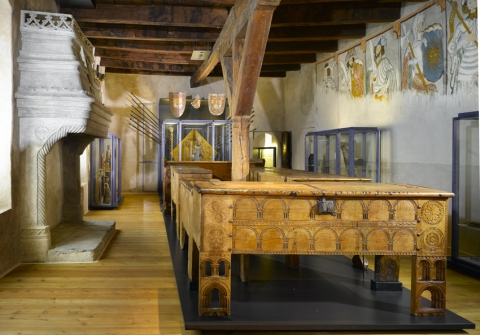 Salle Neuf Preux © Musées cantonaux du Valais, Sion; Glassey